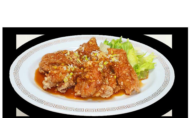 油淋鶏(四川風鶏の唐揚げ) 900円